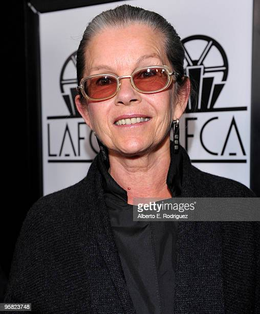 Actress Genevieve Bujold arrives at the 35th Annual Los Angeles Film Critics Association Awards at the InterContinental Hotel on January 16 2010 in...