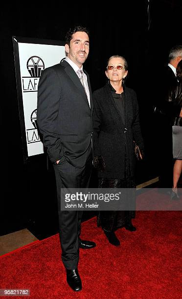 Actress Genevieve Bujold attends the 35th Annual Los Angeles Film Critics Association Awards at the InterContinental Hotel on January 16 2010 in...