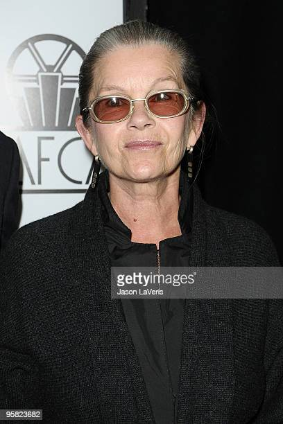 Actress Genevieve Bujold attends the 35th annual Los Angeles Film Critics Association Awards at InterContinental Hotel on January 16 2010 in Century...