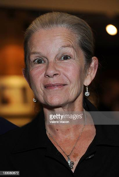 Actress Genevieve Bujold attends The Academy Of Motion Picture Arts And Sciences' Presents Pierre Etaix The Laughter Returns at AMPAS Samuel Goldwyn...