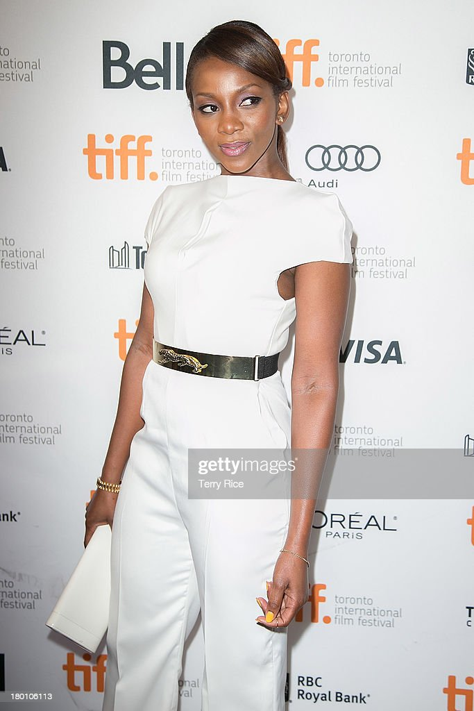 """Half Of A Yellow Sun"" Premiere - Arrivals - 2013 Toronto International Film Festival : News Photo"
