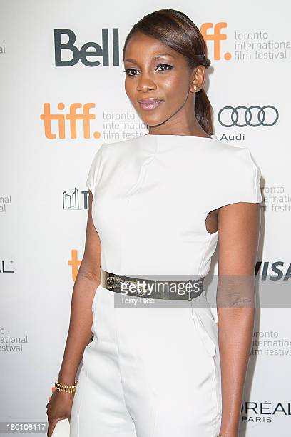 Actress Genevieve Nnaji arrives at the 'Half Of A Yellow Sun' Premiere during the 2013 Toronto International Film Festival at the Winter Garden...