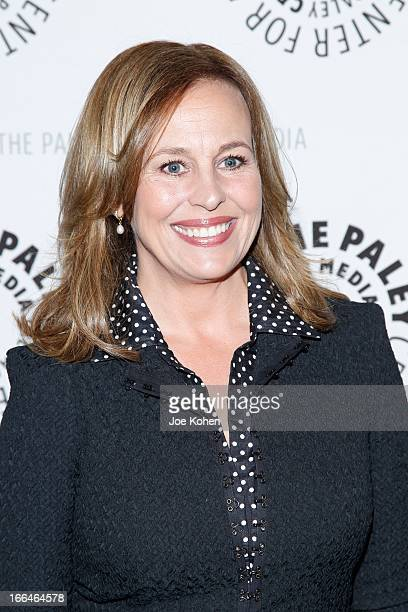 Actress Genie Francis attend 'General Hospital celebrating 50 years and looking forward' at The Paley Center for Media on April 12 2013 in Beverly...