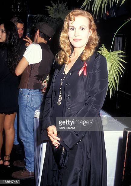 Actress Genie Francis attends the 22nd Annual Daytime Emmy Awards After Party Hosted by General Hospital on May 19 1995 at The Roxy in New York City