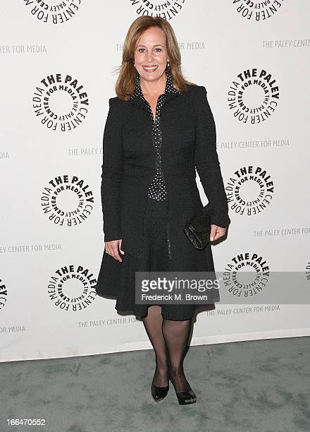 Actress Genie Francis attends The Paley Center for Media Presents General Hospital Celebrating 50 years and Looking Forward at The Paley Center for...