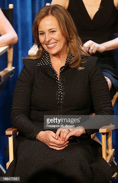 Actress Genie Francis attends The Paley Center for Media Presents 'General Hospital Celebrating 50 years and Looking Forward' at The Paley Center for...