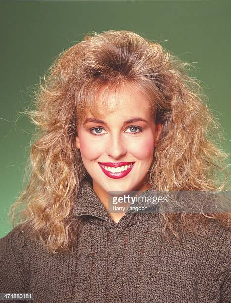 Actress Genie Francis poses for a portrait in 1986 in Los Angeles California