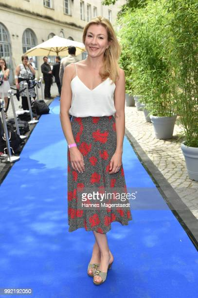 Actress Genija Rykova attends the FFF reception during the Munich Film Festival 2018 at Praterinsel on July 5 2018 in Munich Germany