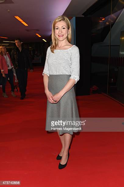 Actress Genija Rykova attends the premiere for the film 'Rico Oskar und das Herzgebreche' at Mathaeser Filmpalast on May 17 2015 in Munich Germany