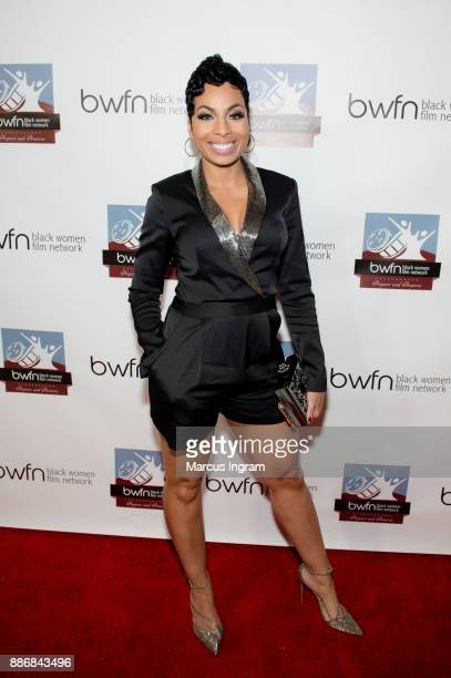 Actress Genise Shelton attends the BWFN holiday party at Revel on December 5 2017 in Atlanta Georgia