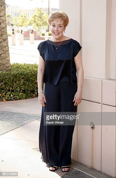 Actress Georgia Engel arrives at the Academy of Television Arts and Sciences celebrating Betty White's 60 years on television at the Leonard...