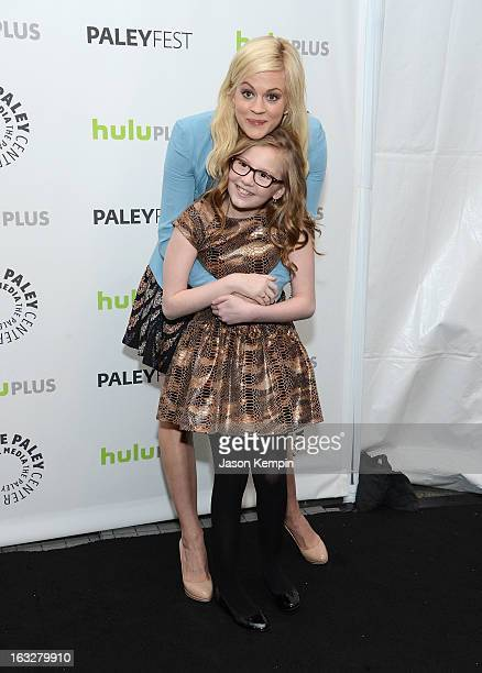 Actress Georgia King and actress Bebe Wood attend the Paley Center For Media's PaleyFest 2013 Honoring The New Normal at Saban Theatre on March 6...