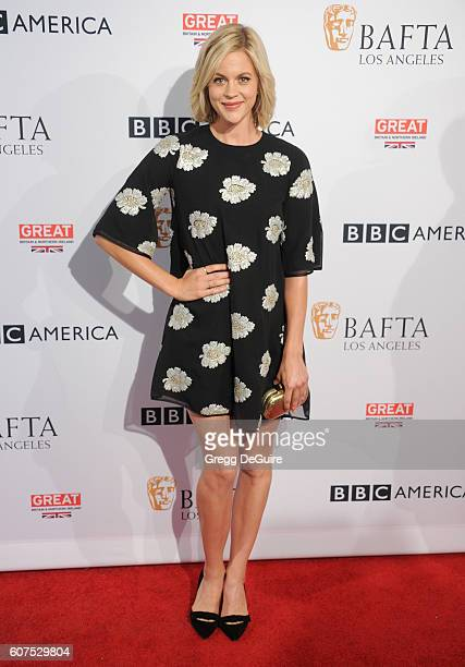 Actress Georgia King arrives at the BBC America BAFTA Los Angeles TV Tea Party at The London Hotel on September 17 2016 in West Hollywood California