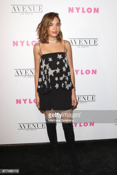 Actress Georgie Flores attends NYLON's Annual Young Hollywood May Issue Event at Avenue on May 2 2017 in Los Angeles California