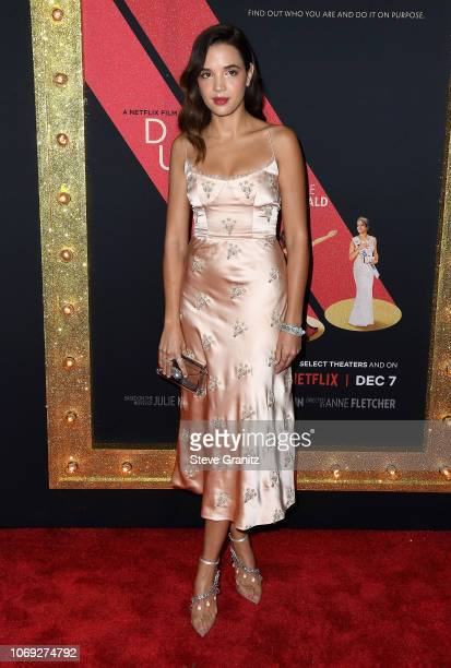 Actress Georgie Flores attends the premiere of Netflix's Dumplin' at TCL Chinese 6 Theatres on December 6 2018 in Hollywood California