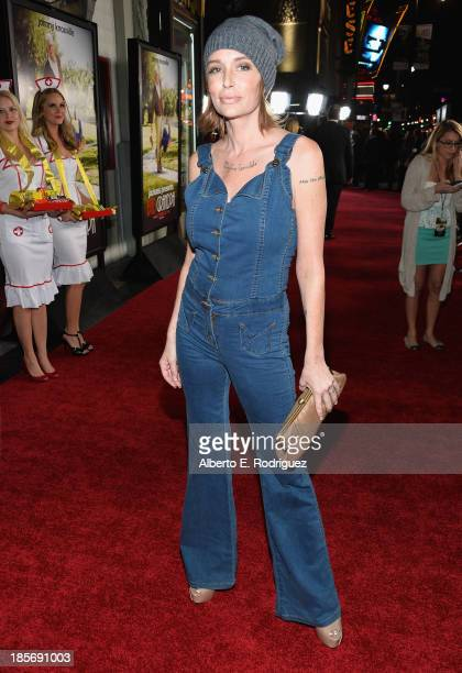 Actress Georgina Cates arrives to the premiere of Paramount Pictures' Jackass Presents Bad Grandpa on October 23 2013 in Hollywood California