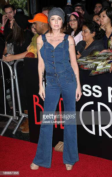 Actress Georgina Cates attends the premiere of Paramount Pictures' Jackass Presents Bad Grandpa at the TCL Chinese Theatre on October 23 2013 in...