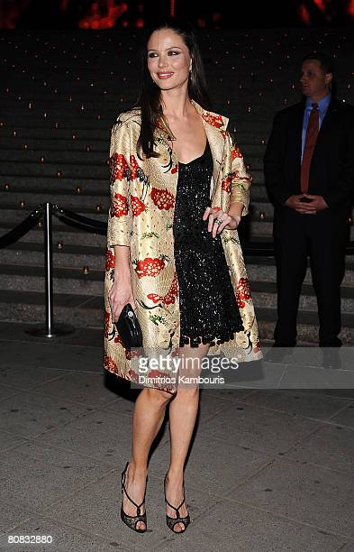 Actress Georgina Chapman attends the 7th Annual Tribeca Film Festival Vanity Fair Party at the State Supreme Courthouse on April 22 2008 in New York...