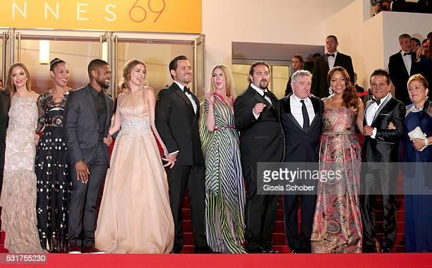 US actress Georgina Chapman US actor Usher and his wife Grace Miguel Cuban actress Ana de Armas Venezuelan actor Edgar Ramirez Venezuelan director...