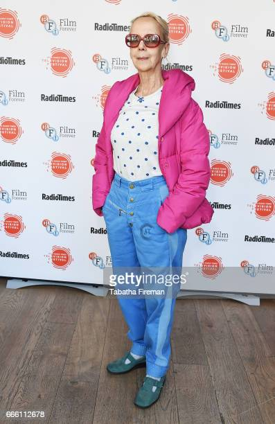 Actress Georgina Hale attends the BFI Radio Times TV Festival at BFI Southbank on April 8 2017 in London England