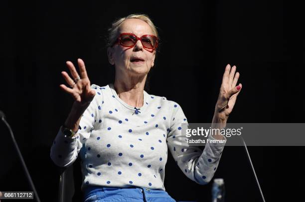 Actress Georgina Hale talks to the audience following a screening of The Author of Beltraffio during the BFI Radio Times TV Festival at BFI Southbank...