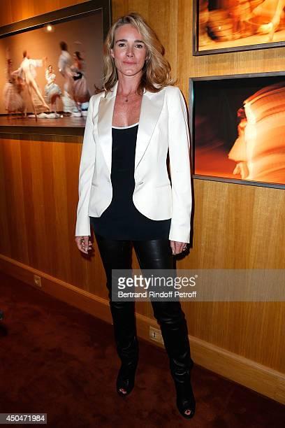 Actress Geraldine Danon attends the 'Eugenia Grandchamp Des Raux' Danse Exhibition at Galerie Pierre Passebon on June 10 2014 in Paris France