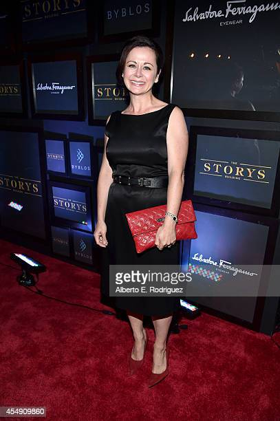 Actress Geraldine Hughes attends the 'Time Out Of Mind' premiere after party at Byblos on September 7 2014 in Toronto Canada