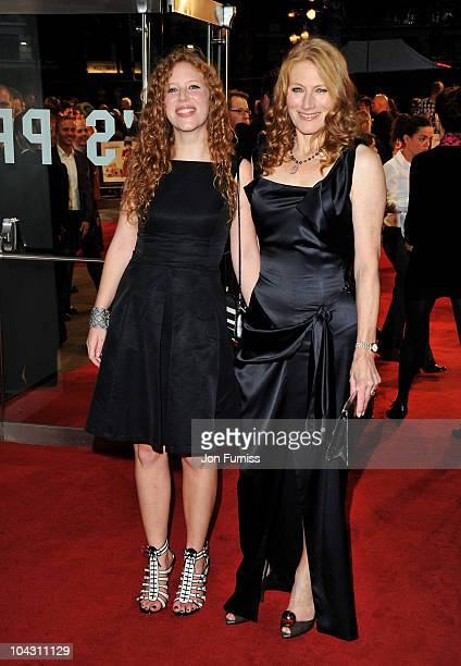 Actress Geraldine James and daughter Ellie Blatchley attend the Made in Dagenham world premiere at the Odeon Leicester Square on September 20 2010 in...