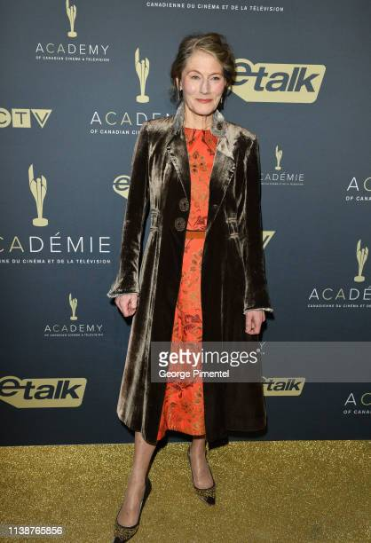 Actress Geraldine James attends Canadian Screen Awards The CTV Gala Honouring Excellence In Fiction Programming at Heritage Court Exhibition Place on...
