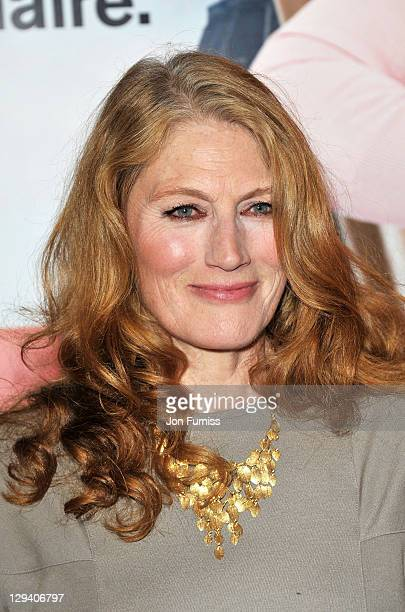 Actress Geraldine James attends the Arthur European premiere at Cineworld 02 Arena on April 19 2011 in London England