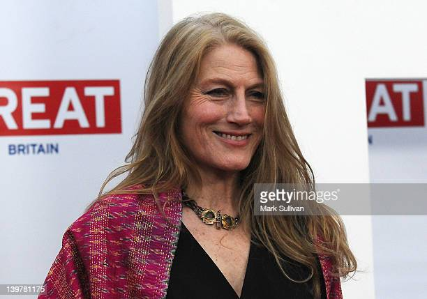 Actress Geraldine James attends the GREAT British Film Reception to honor the British nominees of The 84th Annual Academy Awards at the British...