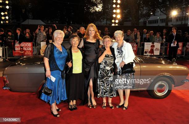 Actress Geraldine James attends the Made in Dagenham world premiere at the Odeon Leicester Square on September 20 2010 in London England