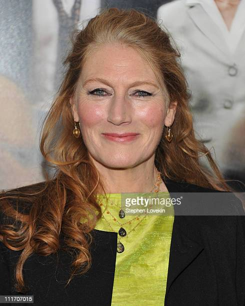 Actress Geraldine James attends the New York premiere of Arthur at Ziegfeld Theatre on April 5 2011 in New York City