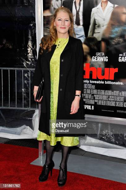 Actress Geraldine James attends the New York premiere of Arthur at the Ziegfeld Theatre on April 5 2011 in New York City
