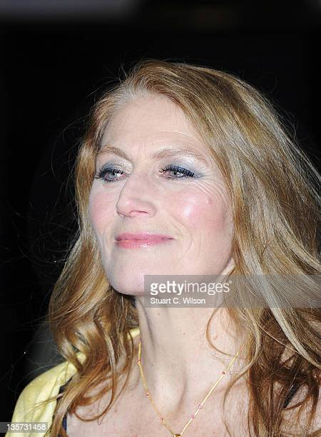Actress Geraldine James attends the world premiere of 'The Girl With The Dragon Tattoo' at Odeon Leicester Square on December 12 2011 in London...