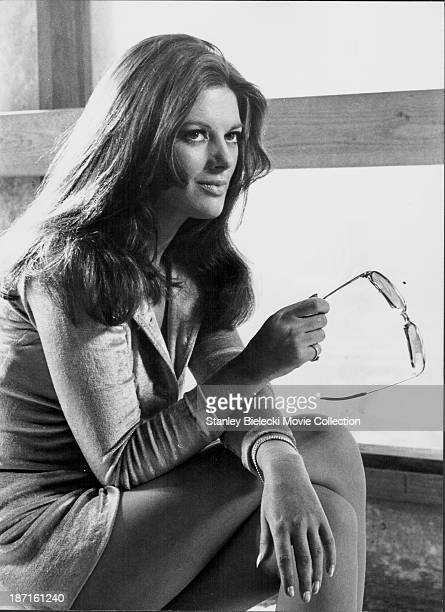 Actress Geraldine Moffat in a scene from the film 'Get Carter' 1971