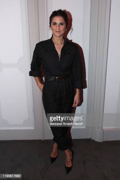 Actress Geraldine Nakache attends the Annual Charity Dinner hosted by the AEM Association Children of the World for Rwanda AIn on December 12 2019 in...
