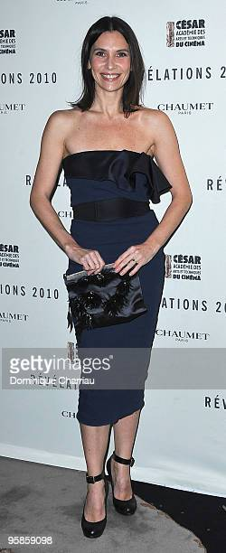 Actress Geraldine Pailhas attends the Chaumet's cocktail party for Cesar's Revelations on January 18 2010 in Paris France