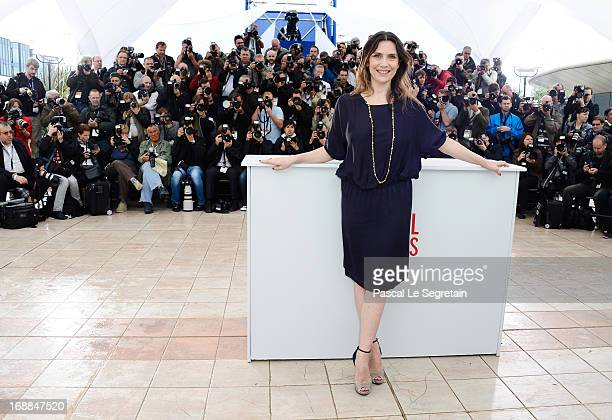 Actress Geraldine Pailhas attends the 'Jeune & Jolie' Photocall during the 66th Annual Cannes Film Festival at the Palais des Festivals on May 16,...