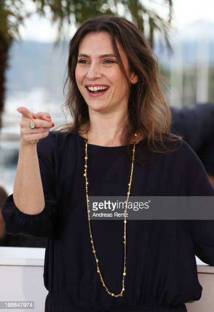 Actress Geraldine Pailhas attends the 'Jeune Jolie' Photocall during the 66th Annual Cannes Film Festival at the Palais des Festivals on May 16 2013...