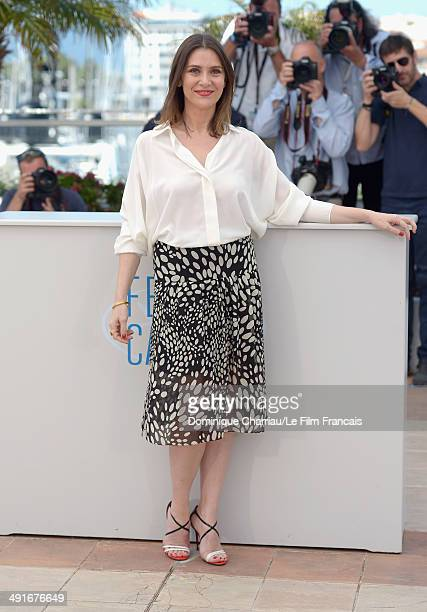 Actress Geraldine Pailhas attends the 'Jury Un Certain Regard' photocall at the 67th Annual Cannes Film Festival on May 17 2014 in Cannes France