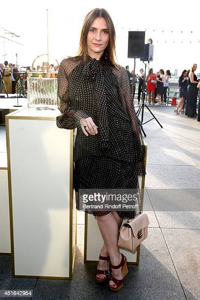 Actress Geraldine Pailhas attends the launching of Chloe new Perfume 'Love Story' Held at Institut du Monde Arabe on July 2 2014 in Paris France
