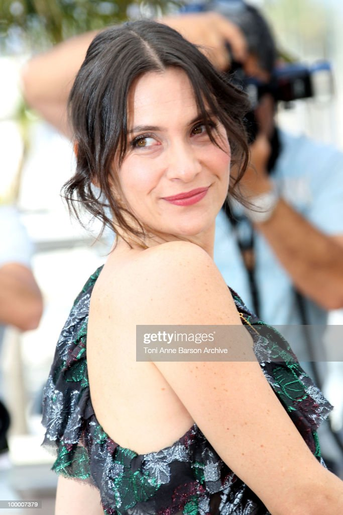 Actress Geraldine Pailhas attends the 'Rebecca H. (Return to the Dogs)' Photo Call held at the Palais des Festivals during the 63rd Annual International Cannes Film Festival on May 20, 2010 in Cannes, France.