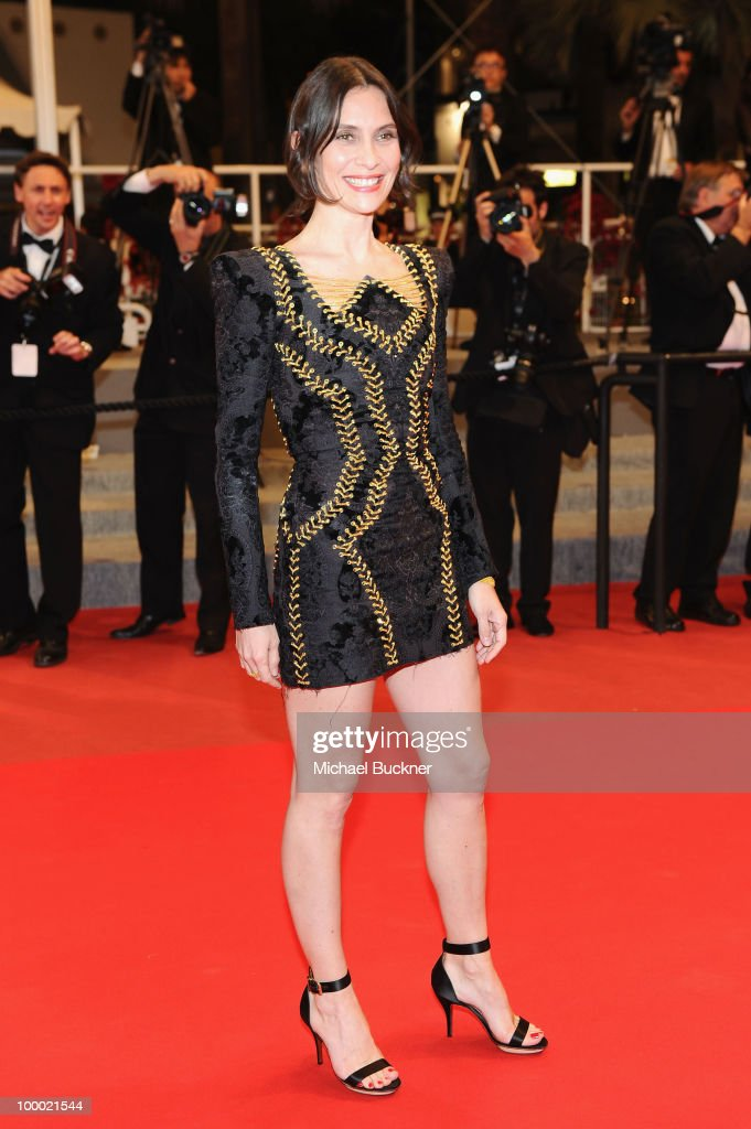 Actress Geraldine Pailhas attends the 'Rebecca H. (Return To The Dogs)' Premiere at the Palais des Festivals during the 63rd Annual Cannes Film Festival on May 20, 2010 in Cannes, France.