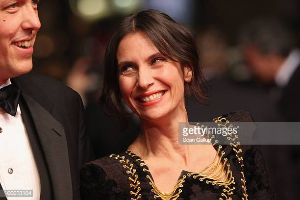 Actress Geraldine Pailhas attends the 'Rebecca H ' Premiere at the Palais des Festivals during the 63rd Annual Cannes Film Festival on May 20 2010 in...