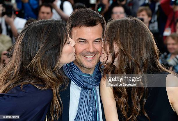 Actress Geraldine Pailhas Director Francois Ozon and actress Marine Vacth attend the 'Jeune Jolie' Photocall during the 66th Annual Cannes Film...