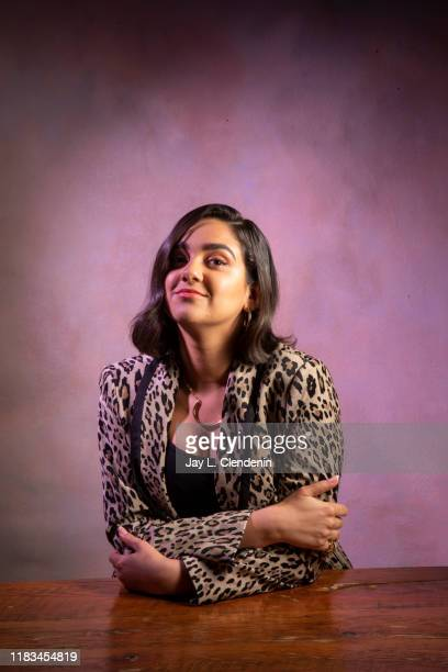 Actress Geraldine Viswanathan from 'Bad Education' is photographed for Los Angeles Times on September 9 2019 at the Toronto International Film...