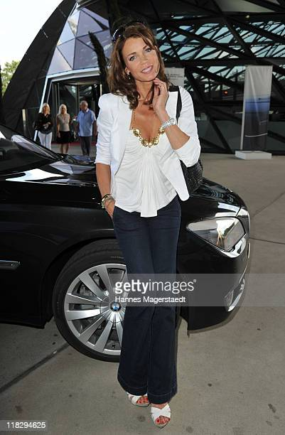 Actress Gerit Kling attends the Public Viewing Of Host City Election For The XXIII Olympic Winter Games 2018 At BMW Welt on July 6 2011 in Munich...
