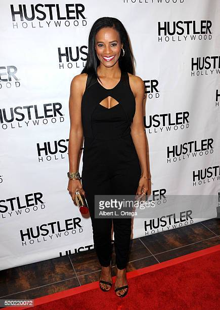 Actress Germany Kent at the Hustler Hollywood New Store Opening held at Hustler Hollywood on April 9 2016 in Los Angeles California