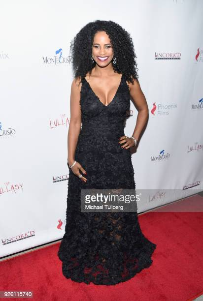 Actress Germany Kent attends the premiere of Uncork'd Entertainment's 'The Lullaby' at Laemmle's Ahrya Fine Arts Theatre on March 1 2018 in Beverly...